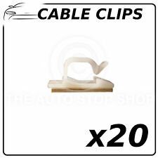 Cable Clips Adhesive Fasteners 11 MM (All Vehicles) Part No. 981 Pack of 20