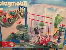 Playmobil 4281 Sun Room Conservatory Retired NRFB RARE