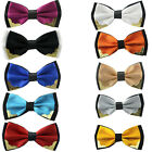 Hot Fashion Men's Bow Tie Necktie Metal Adjustable Bowtie Novelty Tuxedo Wedding