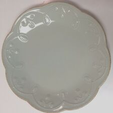 """Lenox Dinnerware, French Perle Ice Blue Collection 9"""" ACCENT PLATE"""
