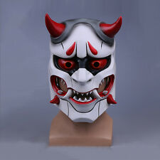 New Overwatch Genji Skin Oni Mask Halloween Fancy Ball Mask Prop Collection