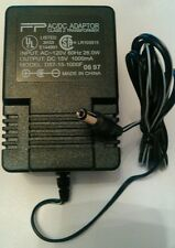 FP AC/DC Adapter D57-15-1000F Output 15V 1000mA Class 2 Power Supply Transformer