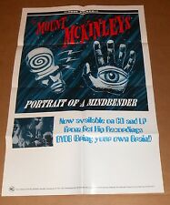 The Mount McKinleys Portrait of a Mind Bender Poster 1995 Original Promo 33x22