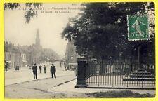CPA France LE CREUSOT (Saône et Loire) MONUMENT SCHNEIDER et Route de COUCHES