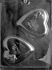 TO MY VALENTINE HEART PIECE V61  mold Chocolate Candy soap making valentine