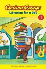 Curious George Librarian for a Day (CGTV Early Reader) H. A. Rey, Scott Gray Pa