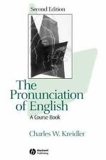 The Pronunciation of English: A Course Book-ExLibrary