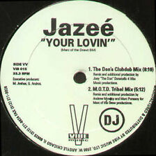 JAZEE - Your Lovin' (Original, UBQ Mix) - 1994 Vibe Music Usa - VIB 015 - Promo