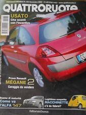 Quattroruote 565 2002  - Test ALFA 147 - Renault Megane 2 -    [Q34]