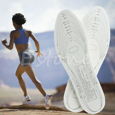 1Pair Unisex Womens Mens Insoles Shoe Cushion Antibacterial Memory Foam Shoe Pad