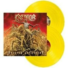 KREATOR - PHANTOM ANTICHRIST 2 LP YELLOW VINYL THRASH METAL++++++++++++ NEU