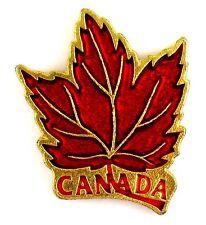 PINS TOURISME FEUILLE ERABLE SYMBOLE CANADA