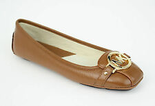 Michael Kors Shoes MK 40R1FUFR1L Fulton Moccasin Tumbled Leather New 8.5 COD ags