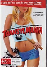 TRANSYLMANIA - LAUGH A SECOND SEXY TEEN FILM - REGION 4 NEW & SEALED DVD