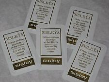 5 SISLEY Sisleya Eye And Lip Contour Cream  SAMPLE NEW FRESH LOT 5 pc