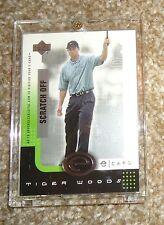 Tiger Woods 2001 Upper Deck eCard unscratched E-TW GOLF