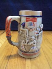 OLYMPICS 1984 LOS ANGELES XXIII BUDWISER STEIN UNUSED COLLECTIBLE c OLYMPIC COM