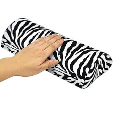 TRIXES Nail Salon Manicure Pedicure Cushion Zebra Pattern Handrest