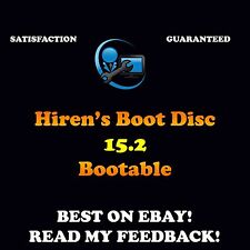 Hiren's Boot CD 15.2 PC Repair Boot Disc Virus Removal Cleanup MBR