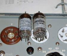 TUBES - 2 Mullard 12AU7 ECC82 12AU7A tube valves Gt Britain TV-7 tested