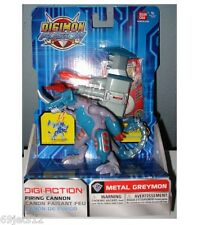 DIGIMON FUSION Firing Cannon METAL GREYMON Chomping Action  New HTF!! In Hand