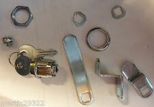 Replacement Cabinet Lock with Three Interchangeable Locking Arms