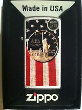 Zippo  Collectible Slim Lighter Liberty Dollar and US Flag