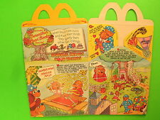1990 McDonalds HM Box - Berenstain Bear Books - Sharing Brings Good Things