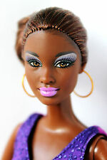 Barbie Doll African American Kara So in Style Articulated Arms Redressed