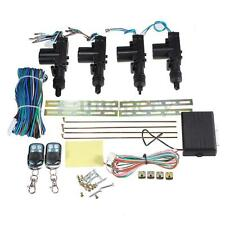 Car Remote Control Central Door Locking Kit Keyless Entry System 4 Control Door
