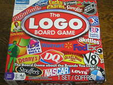 Walmart Version The LOGO BOARD GAME For 2-6 Players Ages 12+ Brands You Love!