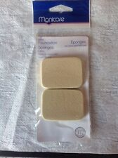 MANICARE 2 PACK FOUNDATION SPONGES