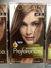 ( LOT OF 3 ) L'Oreal Paris Superior Preference # 6BB Light Beige Brown NEW.