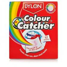 DYLON COLOUR CATCHER 12 SHEETS WASHING MACHINE MIXED COLOUR WASH PREVENT RUNNING