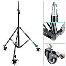 Neewer Photo Studio Light Stand w/ Caster Wheels f Video,Portrait&Photo Lighting
