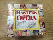 Masters of the Opera CD SET:10 VOLUMES 1642-1926