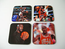 Michael Jordan Basketball Leyenda bebidas Coaster Set