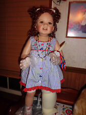 "Monica Levenig ""Unity"" 28"" tall porcelain doll  Masterpiece Gallery NIB"