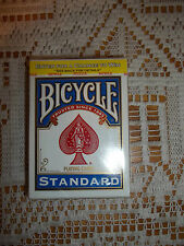 NEW Bicycle Poker Size Standard Index Playing Cards (Blue or Red)