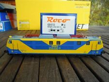 Roco 68410 RENFE 250 E Lok yellow/blue DIGITAL forAC Maerklin Mazinger Design