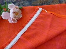1,90x1,10toile de jute rose fuchia pour rideau ou récup tissu