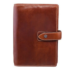 Filofax Malden Personal Organiser Full Grain Buffalo Leather Diary Ochre Brown
