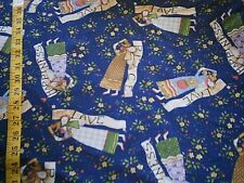 Country Angel all over print fabric 2 yards by Daisy Kingdom