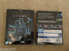 Disney Tron Exclusivo Steelbook Blu Ray ** Nuevo Y Sellado ** Raro & Oop