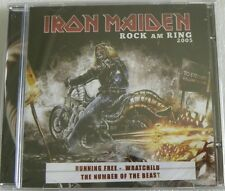 IRON MAIDEN ROCK AM RING 2005 CD SEALED BRAZIL ONLY 14 TRACKS LIVE !!