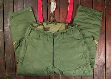 VTG 1944 WW2 USAAF TYPE A-8 QUILT LINED WINTER FLIGHT PANTS TROUSERS LARGE 36/38