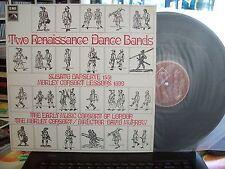 "HQS 1249  DAVID MUNROW - music by SUSATO & MORLEY  ""Renaissance Dance Bands""  LP"