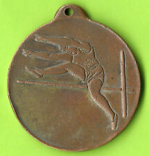 Greece 1959 Centre of Athens Labor Unions School Games Medal 39mm High Jump