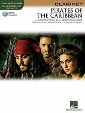 Pirates of the Caribbean for Clarinet Instrumental Play- Along BK/online audio (