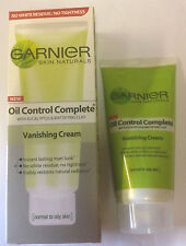 GARNIER Unisex OIL CONTROL COMPLETE VANISHING CREAM NORMAL TO OILY SKIN 40ML
